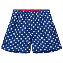 Gant Navy Star Print Branded Swim Shorts 405