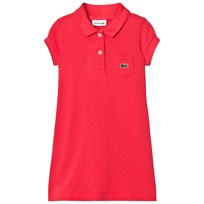 Lacoste Pink Pique Polo Dress JDY