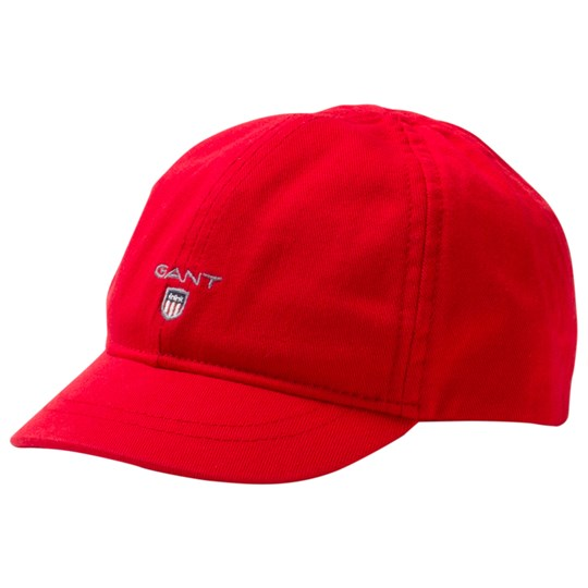 GANT Red Branded Baseball Cap 620
