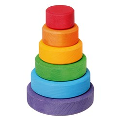 Grimms Small Conical Tower Toy