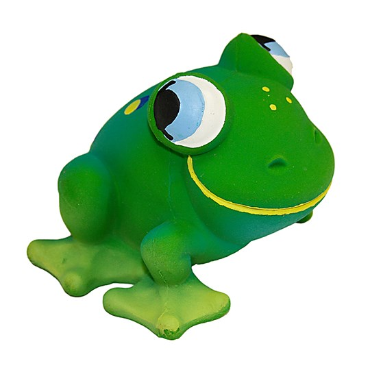 Lanco Frog Natural Rubber Toy