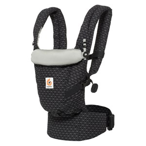 Image of Ergobaby Adapt Baby Carrier Geo Black One Size (716961)