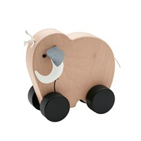 Kids Concept Neo Mammoth Push Along Natural