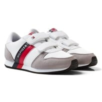 Tommy Hilfiger Material Mix Sneakers White White