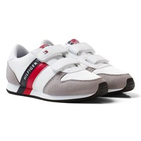 Tommy Hilfiger Material Mix Sneakers Vit White