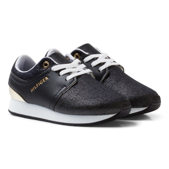Tommy Hilfiger Material Mix Sneakers Midnight Blue Midnight