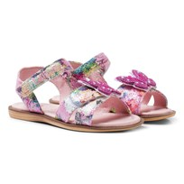 Lelli Kelly Pink Butterfly Sandals Pink
