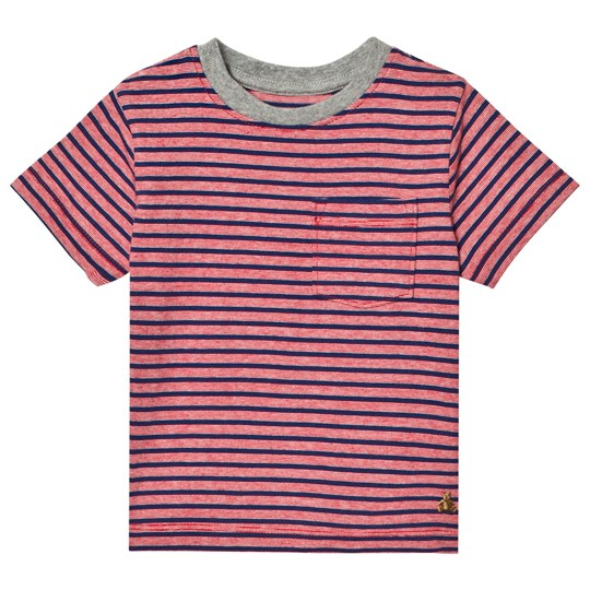 GAP Stripe Short Sleeve Pocket Tee Pure Red PURE RED V2