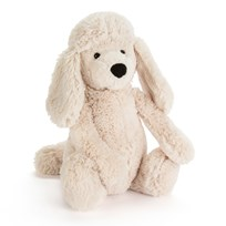 Jellycat Bashful Poodle Pup Medium White