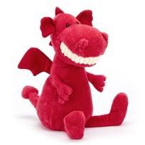 Jellycat Toothy Dragon Pink