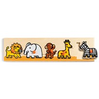 Djeco Savanna Puzzle Multi