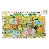 Djeco Jungle Observation Pussel Multi