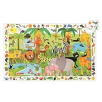Djeco Jungle Observation Puzzle - 35 pcs Multi