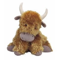 Jellycat Truffles Highland Cow Medium Brown