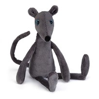 Jellycat Rumplekin Rat Grey