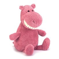 Jellycat Toothy Hippo Rosa