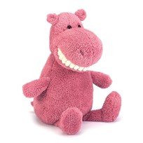 Jellycat Toothy Hippo розовый