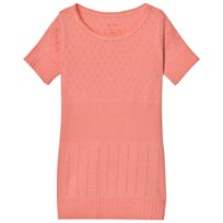 Noa Noa Miniature Doria Mini Basic T-Shirt Strawberry Ice Pink