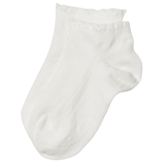 Noa Noa Miniature Mini Basic Sally Hosiery Chalk White