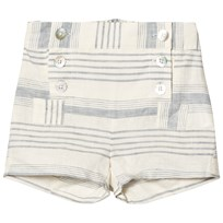 Noa Noa Miniature Mini Lin Shorts Chalk White