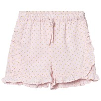 Noa Noa Miniature Baby Delicate Voile Printed Shorts Pink Dogwood Pink