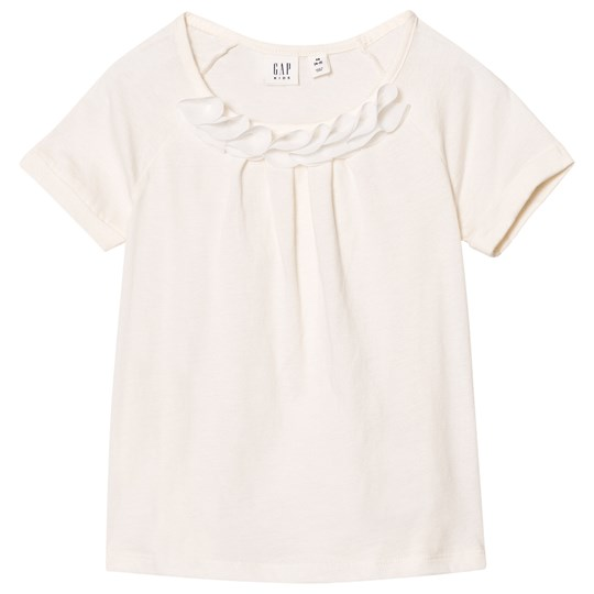 GAP Chiffon Applique Tee Ivory Frost IVORY FROST