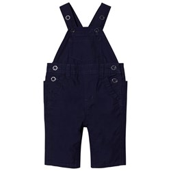 GAP Jersey Lined Overalls Navy Uniform