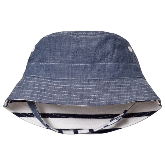 GAP Reversible Chambray Bucket Hat Chambray
