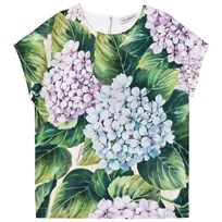 Dolce & Gabbana Printed Cotton Top HAC61