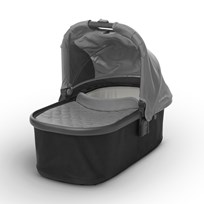 UPPAbaby VISTA/CRUZ Carrycot Pascal (Grey) - Carbon Frame Hopea