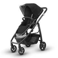 UPPAbaby CRUZ Stroller Jake (Black) - Carbon Frame Серебряный