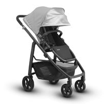 UPPAbaby CRUZ Stroller Pascal (Grey) - Carbon Frame Silver