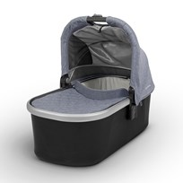 UPPAbaby VISTA/CRUZ Carrycot Gregory (Blue Marl ) - Silver Frame Silver