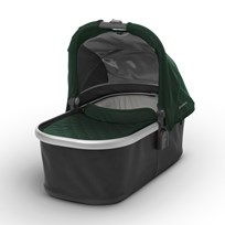 UPPAbaby VISTA/CRUZ Carrycot Austin (Hunter Green) - Silver Frame Hopea