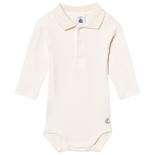 Petit Bateau Body Ml I Voilier Coquil White