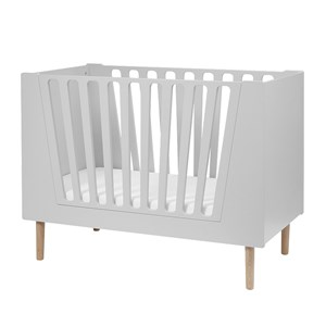 Image of Done by Deer Baby Cot 70 x 140 cm Grey (3056049909)