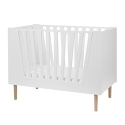 Done by Deer Baby Cot 70 x 140 cm White