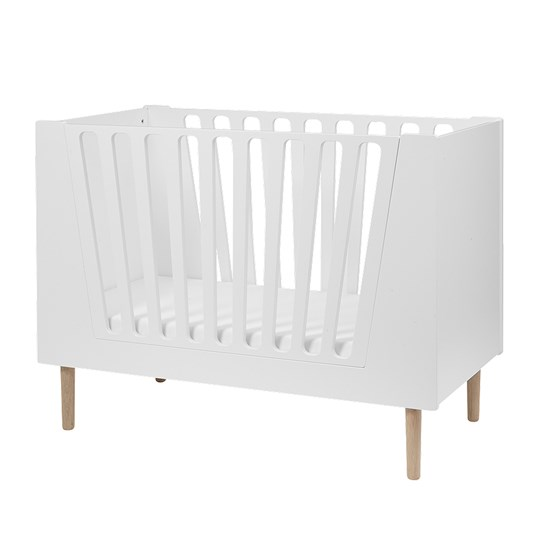 Done by Deer Baby Cot 70 x 140 cm White White