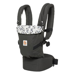 Image of Ergobaby Adapt Baby Carrier Graphic Grey (2813426413)