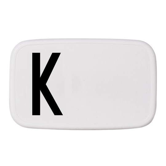 Design Letters Personal Lunch Box K White