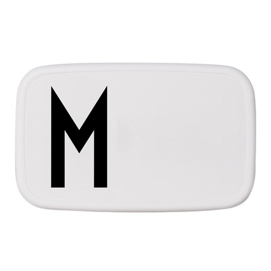 Design Letters Personal Lunch Box M White