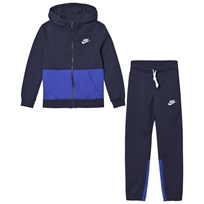 NIKE Navy Tracksuit OBSIDIAN/GAME ROYAL/WHITE
