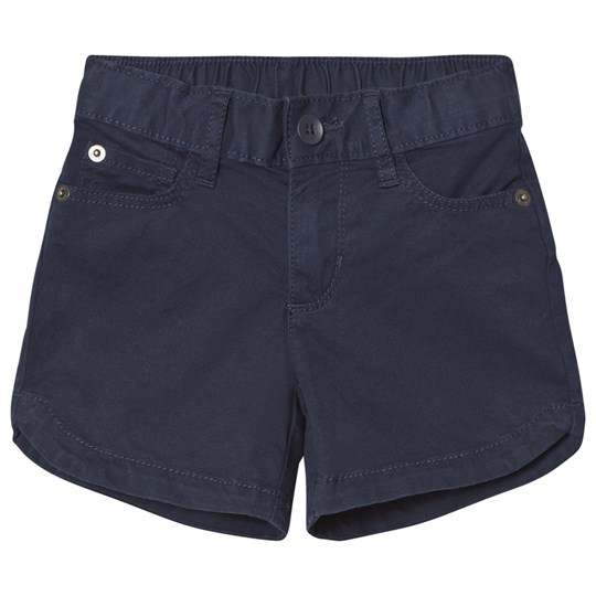 GAP Twill Midi Shorts Blue Galaxy BLUE GALAXY