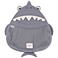 3 Sprouts Shark Bad Förvaring Grey Shark