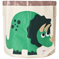 3 Sprouts Dino Storage Bin Green Dinosour