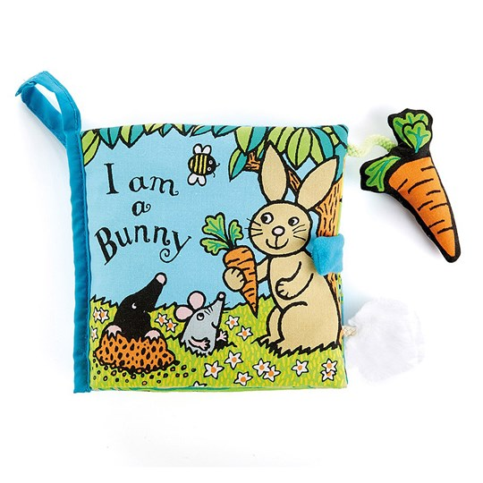Jellycat I Am A Bunny Book Multi