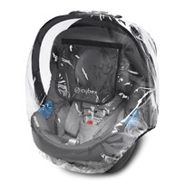 Cybex Regnskydd Aton Series/Cloud Q Infant Carrier White