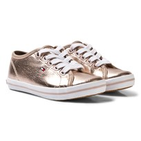 Tommy Hilfiger Metallic Sneakers Rose Gold Rose Gold
