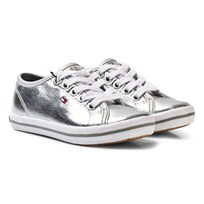 Tommy Hilfiger Metallic Sneakers Silver Hopea