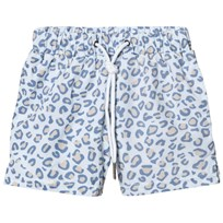 Livly Swim Trunks Leo Print Blue Leo Print Blue